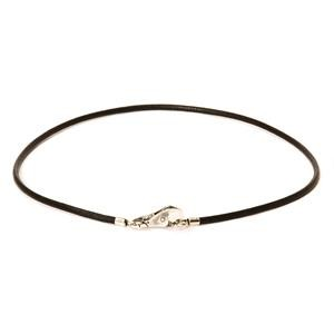 Trollbeads – Leather Necklace, Black – L3102
