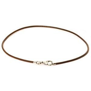 Trollbeads – Leather Necklace, Brown – L3101