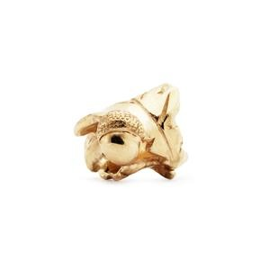 Trollbeads – Little Acorns Bead, Gold – 21178