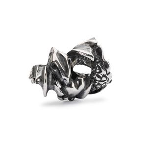 Love Dragon Bead, Silver