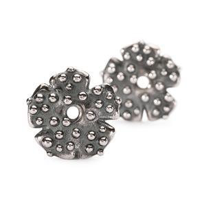 Morning Dew Earrings, Silver