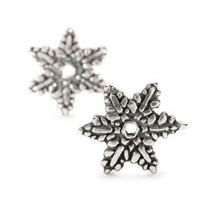 Trollbeads – Snow Flower Earrings – 16211