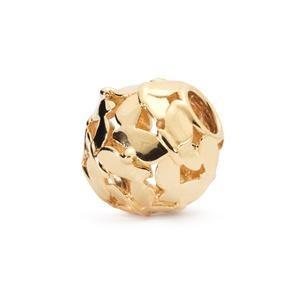 Trollbeads – Swarm of Butterflies Bead, Gold – 21368