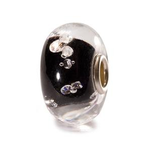 Trollbeads – The Diamond Bead, Black – 81002