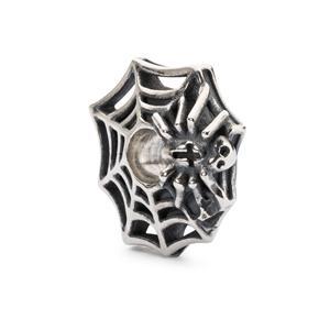 Wicked Web Bead, Silver