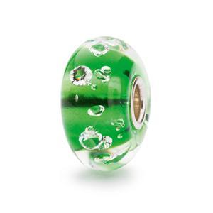 Diamond Bead, Emerald Green