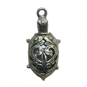 Fancy Turtle - Pewter Charm