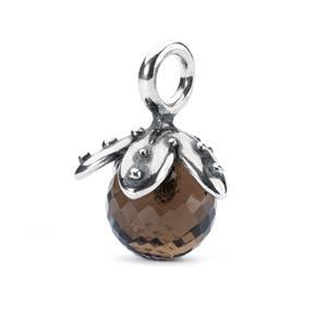 Trollbeads – Smoky Quartz Facet Tassel – TAGBE-00210
