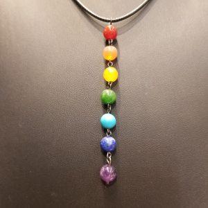 Chakra Stone Drop – Necklace