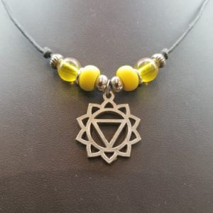 Solar Plexus/Navel Chakra – Slipknot Necklace