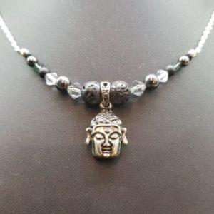 Head of Buddha, Oil Diffuser – Necklace