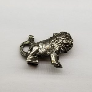 Lion – Big Pewter Charm