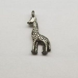 Giraffe – Pewter Charms