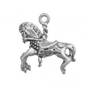 Carousel Horse – Pewter Charm