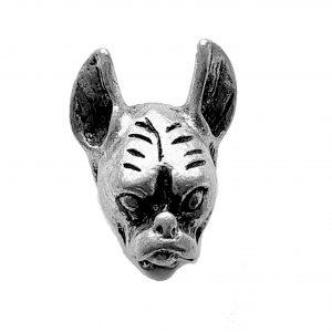 Chihuahua Head – Pewter Charm