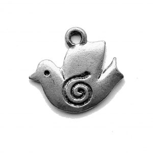 Dove – Pewter Charm