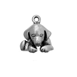 Down Dog – Pewter Charm