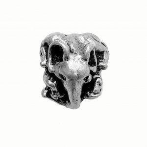 Elephant Bead – Pewter Charm