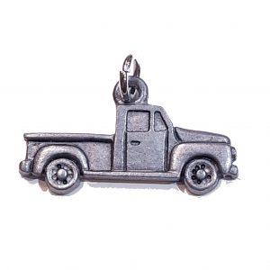 Flat Truck – Pewter Charm