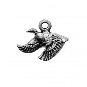 Flying Goose Charm – Pewter Charm