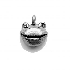 Frog Face – Pewter Charm