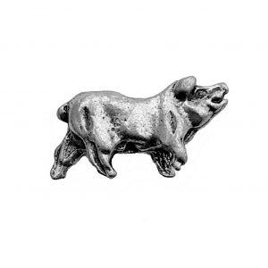Hog – Pewter Bead Charm