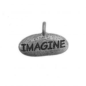 Imagine – Pewter Charm