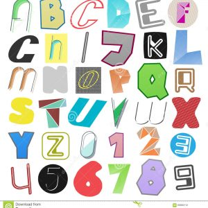 Letters and Numbers - Charms