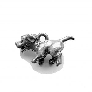 Lil Pup Dog – Pewter Charm