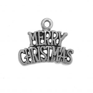 Merry Christmas – Pewter Charm