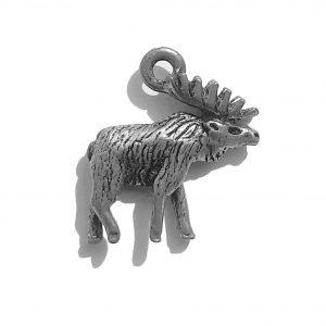 Moose – Pewter Charm