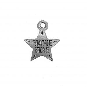 Movie Star – Pewter Charm