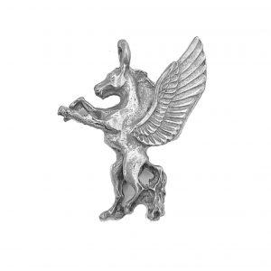 Pegasus – Pewter Charm