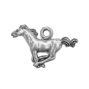 Running Horse – Pewter Charm