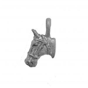 Small Horse Head – Pewter Charm