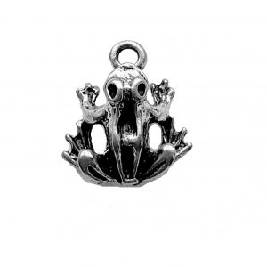 Toad Charm – Pewter Charm