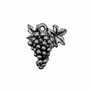Grapes – Pewter Charm