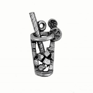 Icy Drink – Pewter Charm