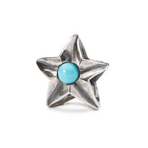 Trollbeads – Aquarius Star – TAGBE-00271
