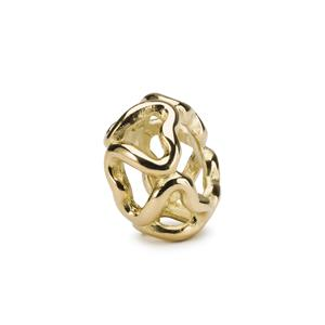 Trollbeads-Connection, Gold – TAUBE-00124