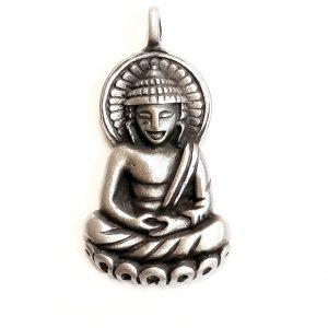Buddha – Fine Pewter Pendant BFP00007