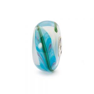 Trollbeads – Blue Bamboo Bead – TGLBE-20295
